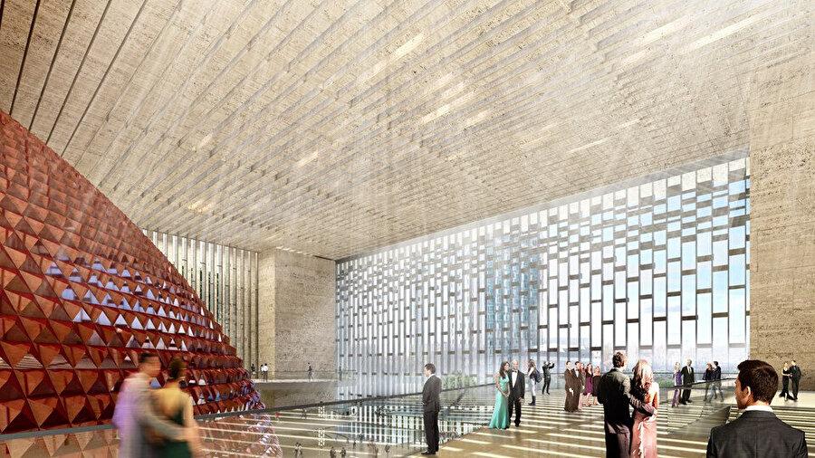 AKM, halkın 365 gün boyunca kullanabileceği bir kültür sanat merkezi olması hedefleniyor.