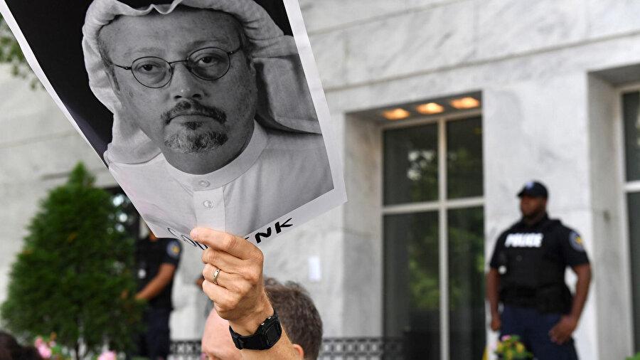 Kaşıkçı'nın öldürülmesi, dünya çapında protesto dalgasına yol açtı.