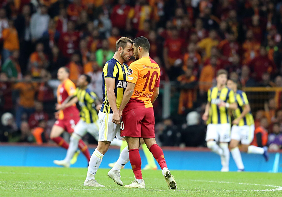 Türk Telekom Stadı'nda yaşanan olayların fitilinin ateşlendiği an.