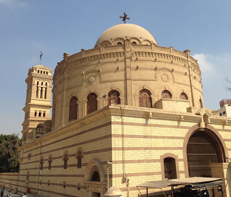 Mısır'da Kıptîlere ait, St. Mercuruis adıyla da bilinen eski Ebu Seyfeyn Kilisesi.