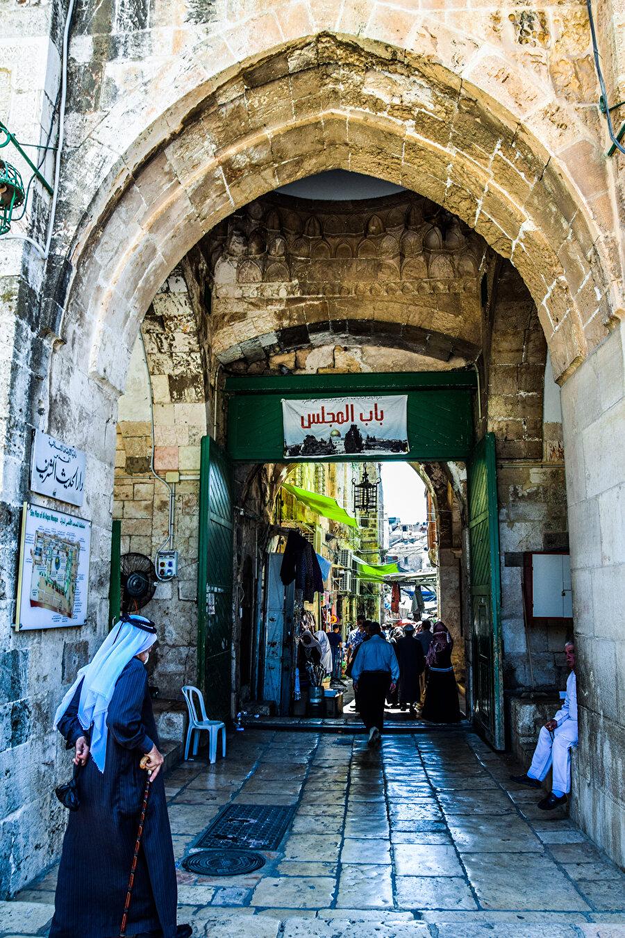 Nâzır Kapısı, Meclis Kapısı olarak da bilinir. (Fotoğraf: İbrahim Furkan Özdemir)