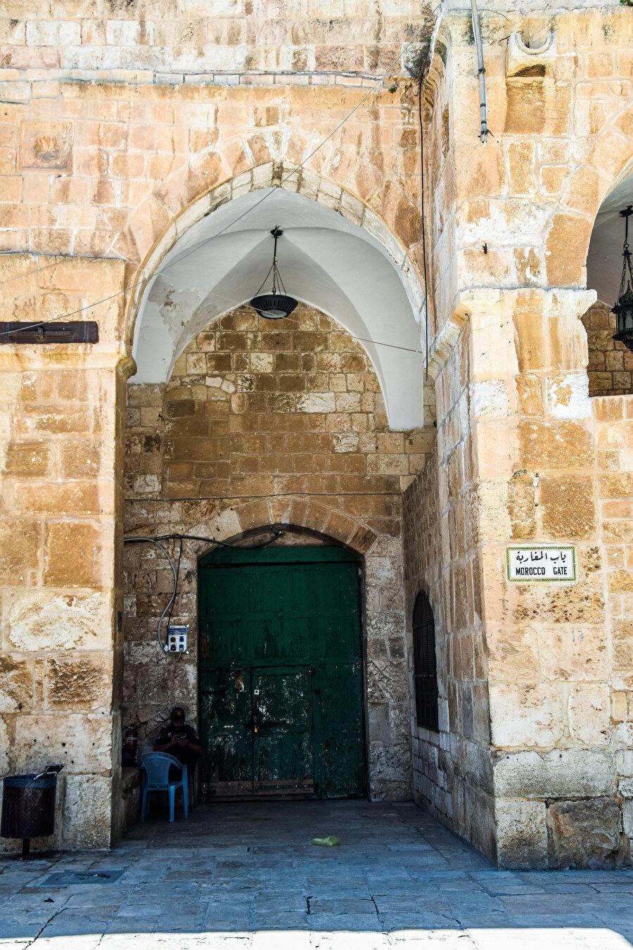 Meğâribe / Mağribliler Kapısı, Müslümanların kullanımına kapalıdır. (Fotoğraf: İbrahim Furkan Özdemir)