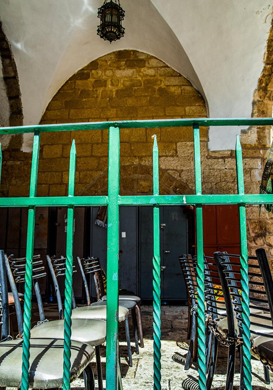 Cenaze Kapısı, İsrail işgaline kadar cenazelerin çıkarıldığı kapıydı. (Fotoğraf: İbrahim Furkan Özdemir)