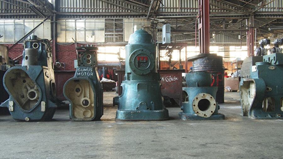 Gümüş Motorun ürettiği eserler müzede sergileniyor ve halen çalışır durumdalar.