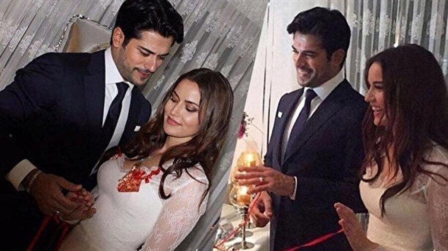 29 Haziran 2017 tarihinde evlenen ünlü çift, evliliklerinin 2.yılında bebek beklemenin heyecanı içerisindeler.