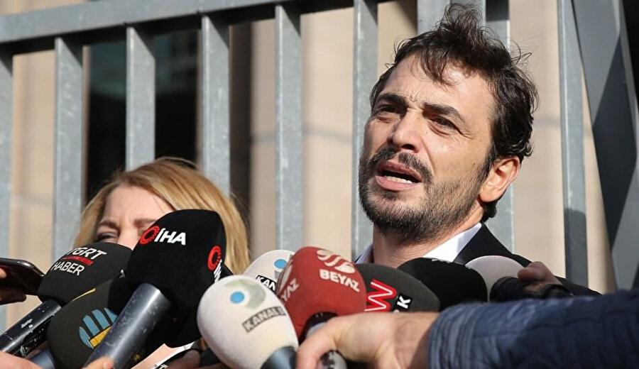 Savcılığa verdiği ifade sonrası Kural, basın mensuplarının karşısına geçti.