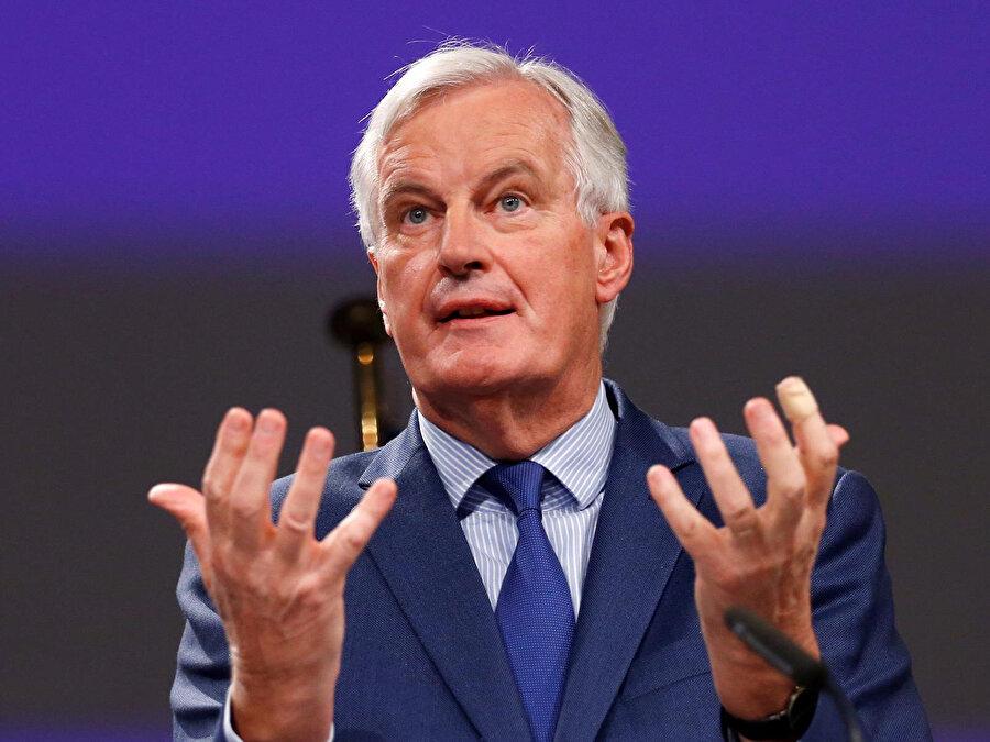 AB'nin Brexit Başmüzakerecisi Michel Barnier