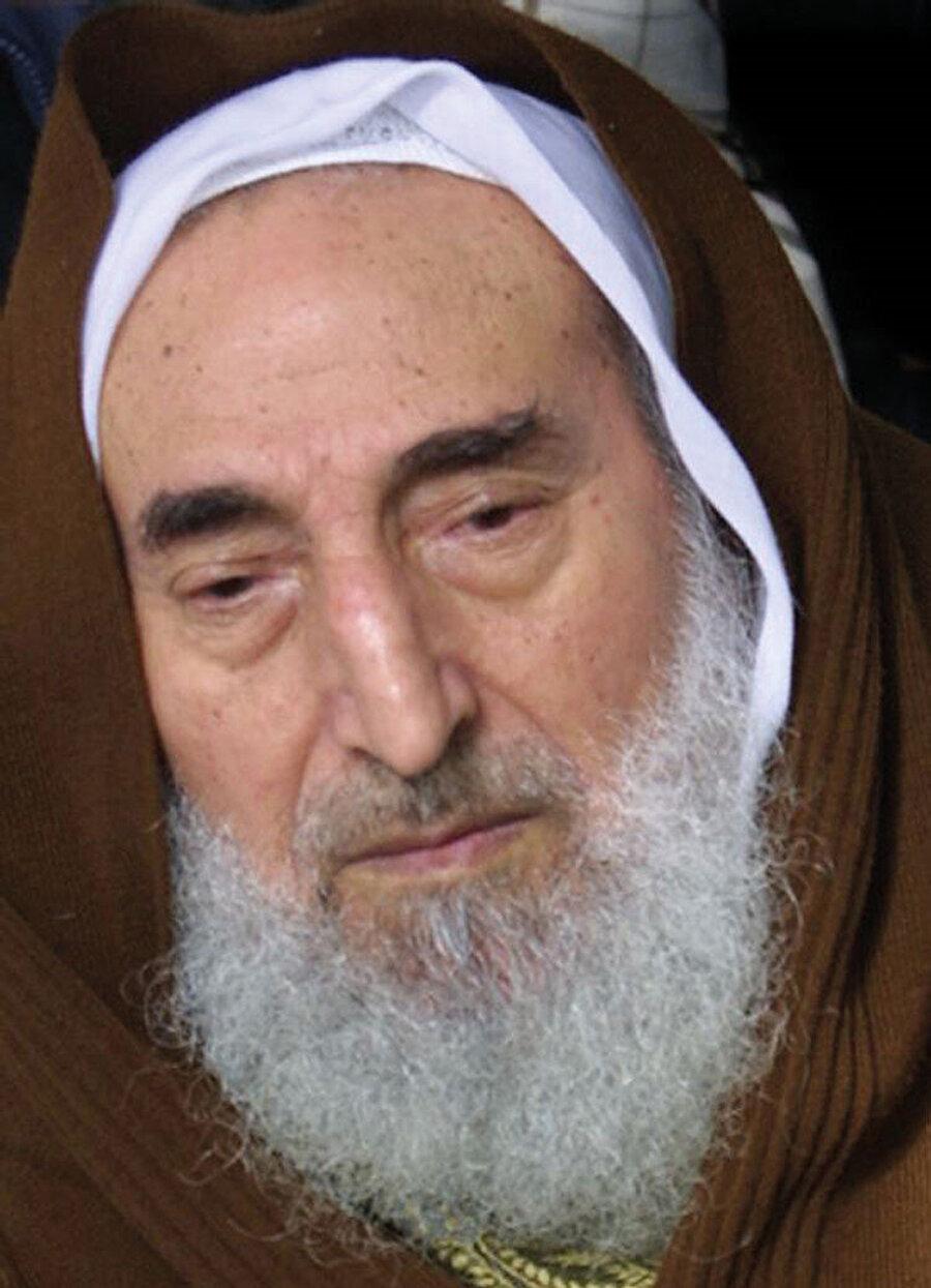 Şeyh Ahmed Yasin (1936-2004).