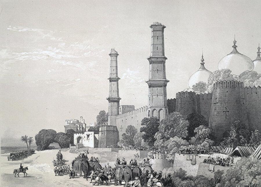 Sihlerin Hint Alt Kıtası'ndaki egemenlikleri, çok sayıda İslâm eserinin tahribata uğramasına yol açmıştır.