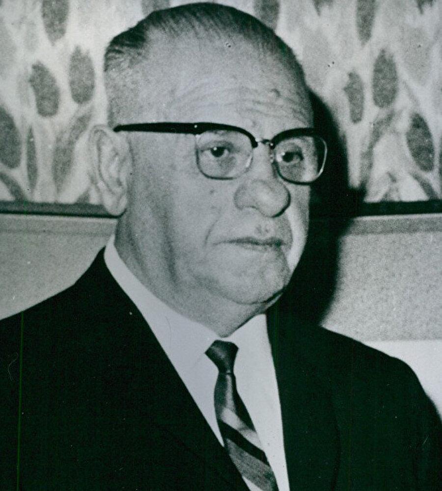 Türkiye Cumhuriyeti'nin 5. Cumhurbaşkanı Cevdet Sunay.