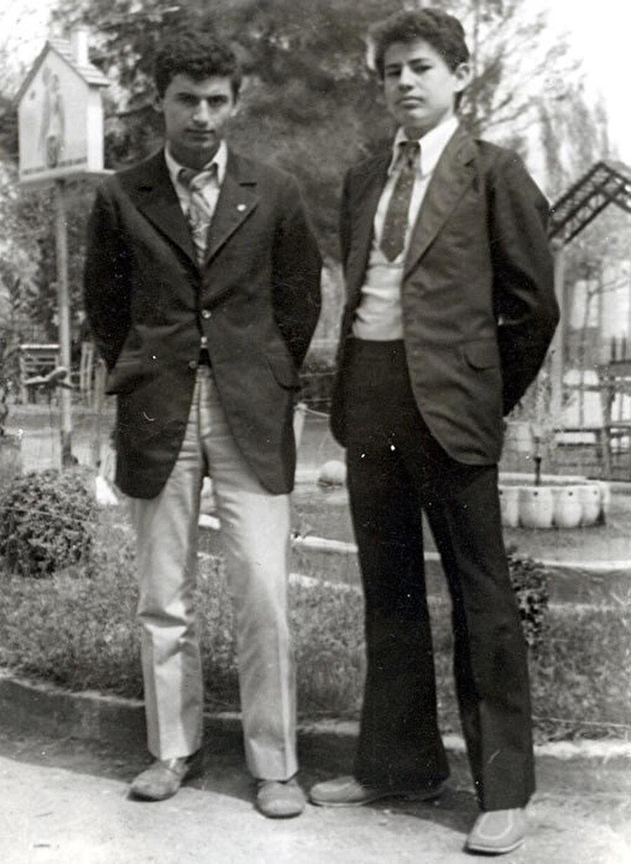 Binali Yıldırım (Solda)