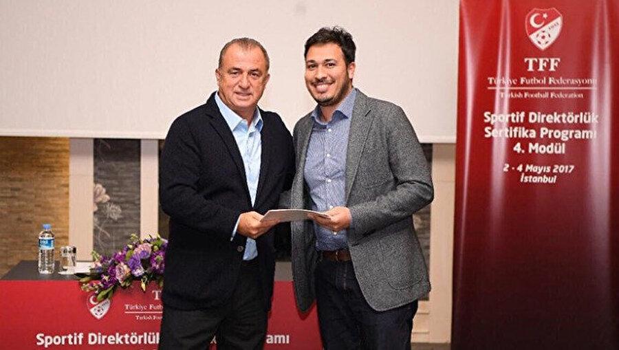 Ali Naibi, sportif direktörlük sertifikasını dönemin futbol direktörü Fatih Terim'den almıştı.