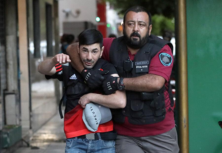 Yaşanan olayların ardından birçok taraftar gözaltına alındı.