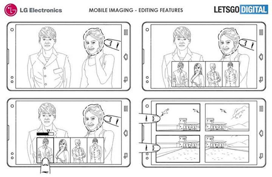 Çekilen fotoğrafların düzenlenmesi ve gibi işlemler için de yepyeni özelliklerin sunulacağı tahmin ediliyor.