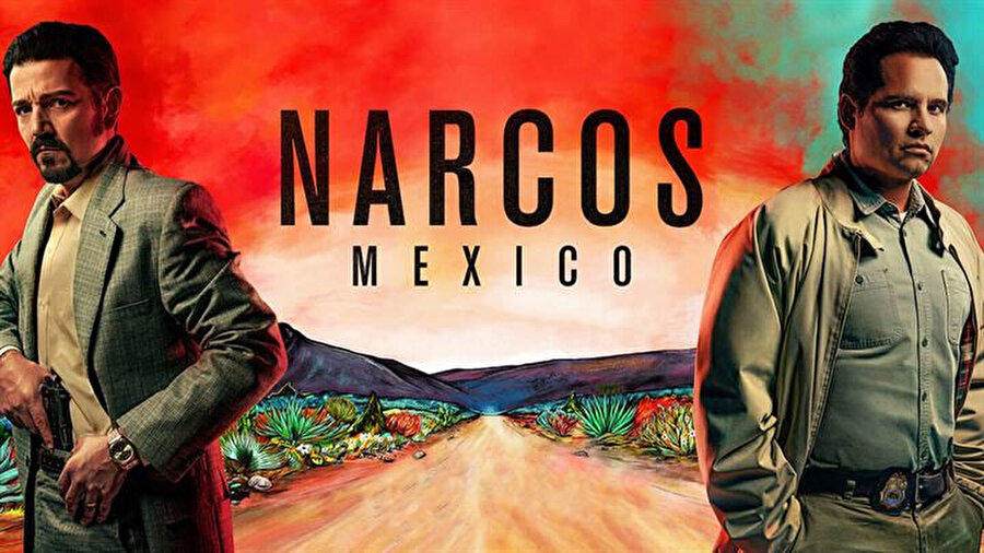 Narcos Mexico resmi afişi