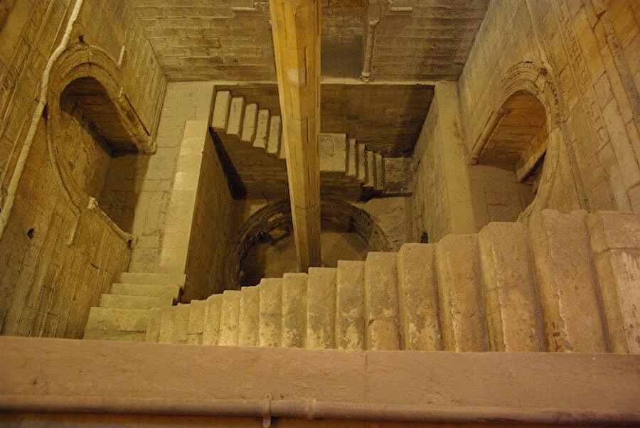 Şekil 1: Daha önce Kahire'de bulunan Nilometre.
