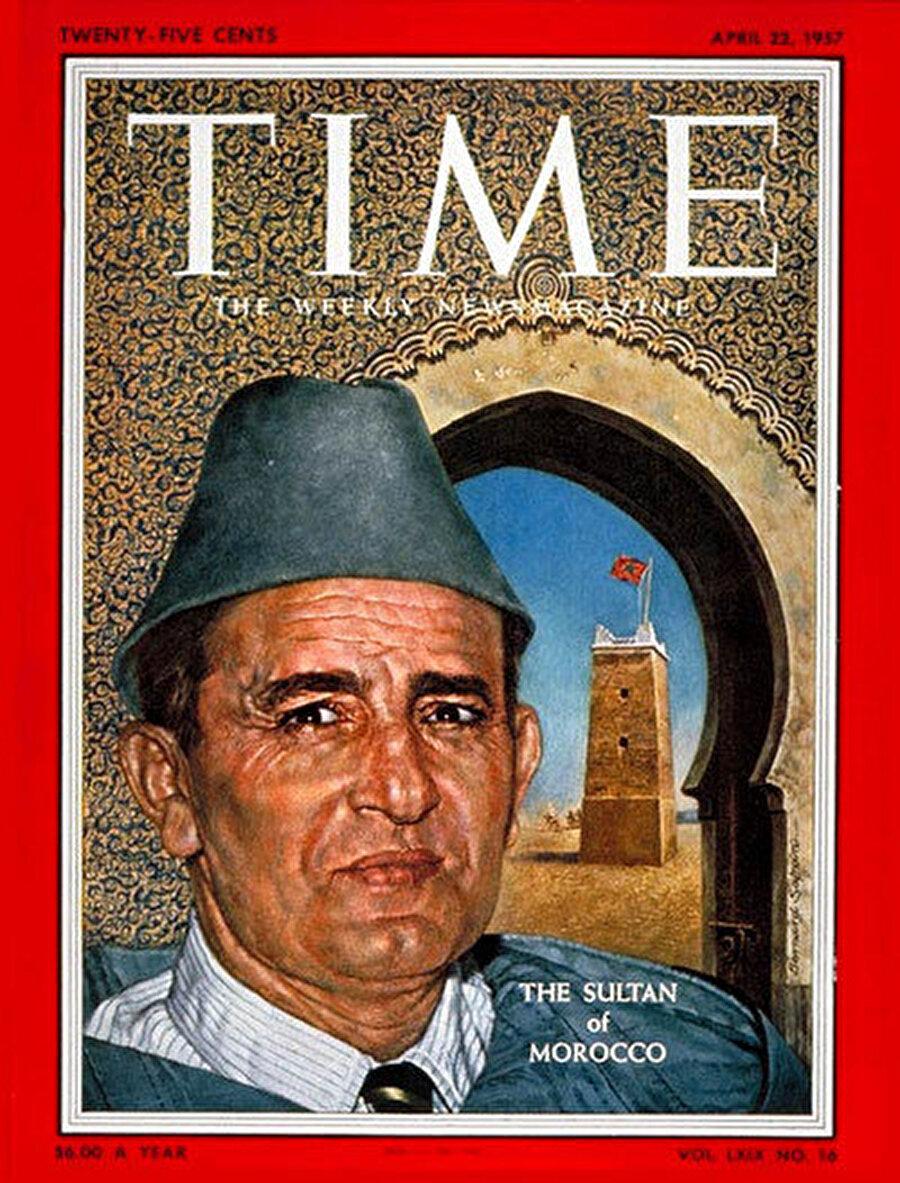 TIME dergisi, Kral Muhammed'i kapağına taşımıştı.