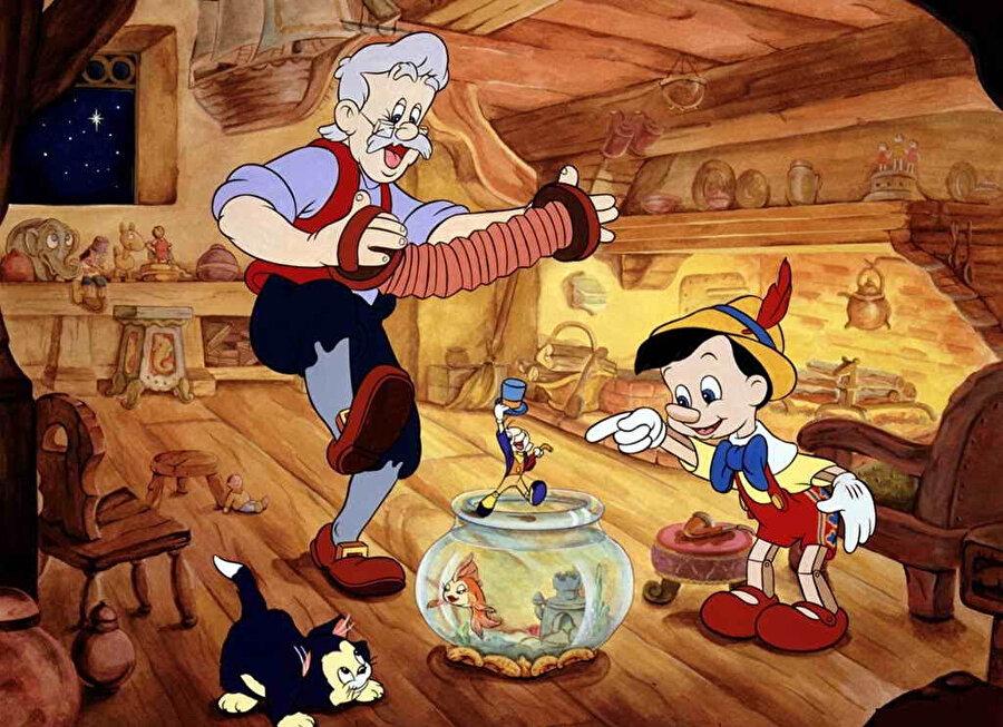 Pinokyo, bir marangoz tarafından tahta oyuncak olarak tasarlanan ve sonrasında bir insana dönüşen öğretici bir çocuk hikayesi.