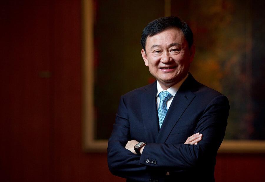 Darbeyle görevden uzaklaştırılan eski Başbakan Thaksin Shinawatra.