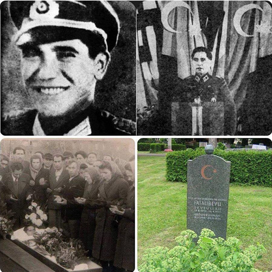 Abdurrahim Bey Düdengski'nin Azerbaycan Milli Kongresi'ndeki konuşması sırasında ve cenaze merasiminde çekilen resimler.
