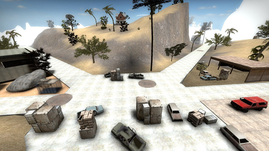 CS GO'nun Battle Royale modu bu harita ile gelecek.