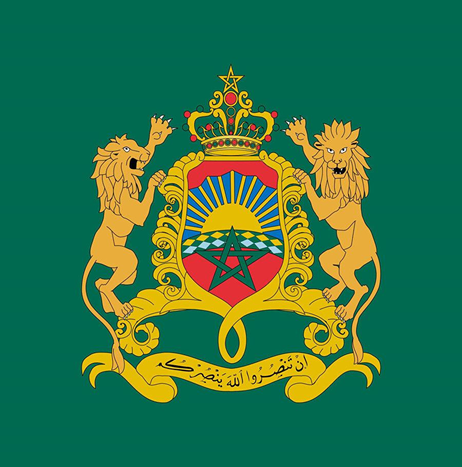 Fas'ın kraliyet arması.