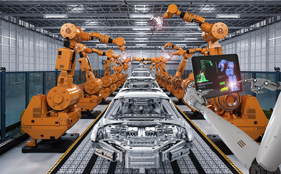 İş bölümünde robotların fonksiyonunun artması işsizlik anlamına gelmiyor.