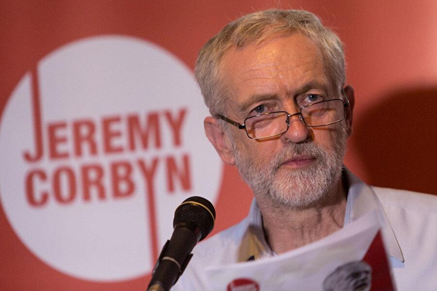 İşçi partisi ve muhalefetin lideri Jeremy Corbyn