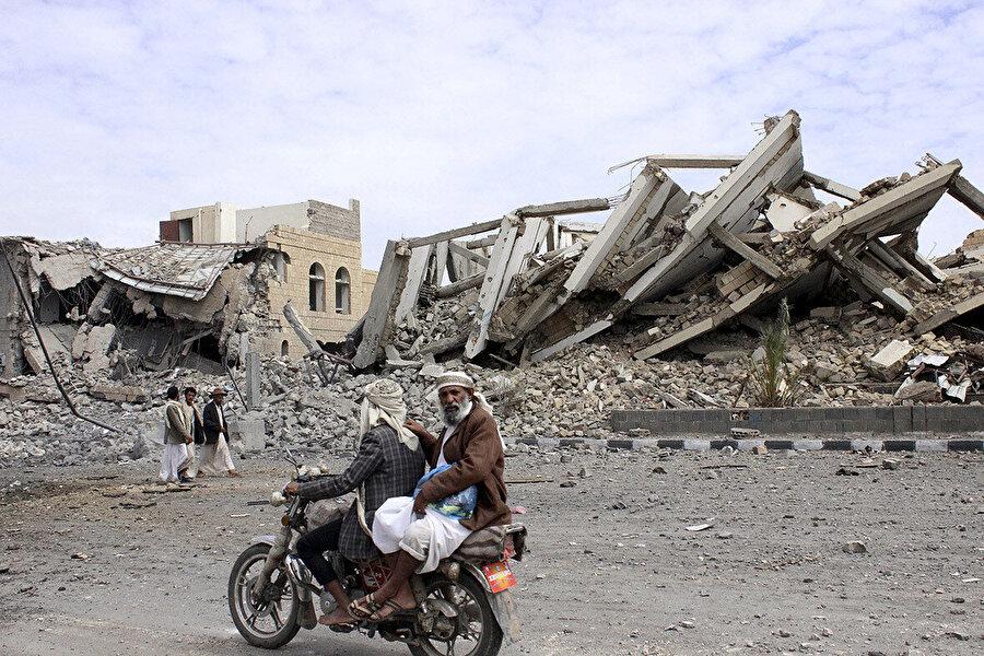 Kuzeydeki Saade kenti, çatışmanın odak noktalarından birini oluşturuyor.