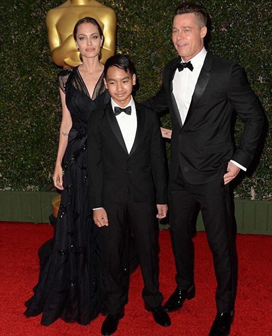 Angelina Jolie ve Brad Pitt çiftinin evlat edindikleri Vietnam asıllı çocukları Pax.