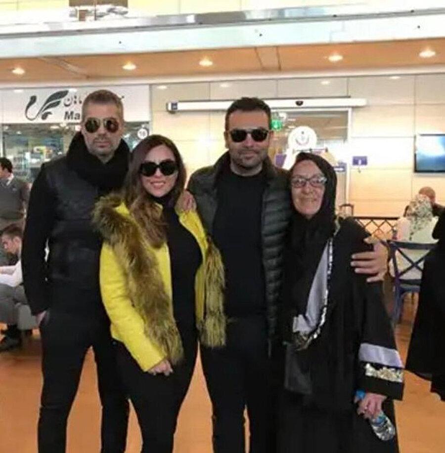 Saruhan Hünel'i geçtiğimiz hafta yakınları ve ailesi havaalanından böyle uğurladı.