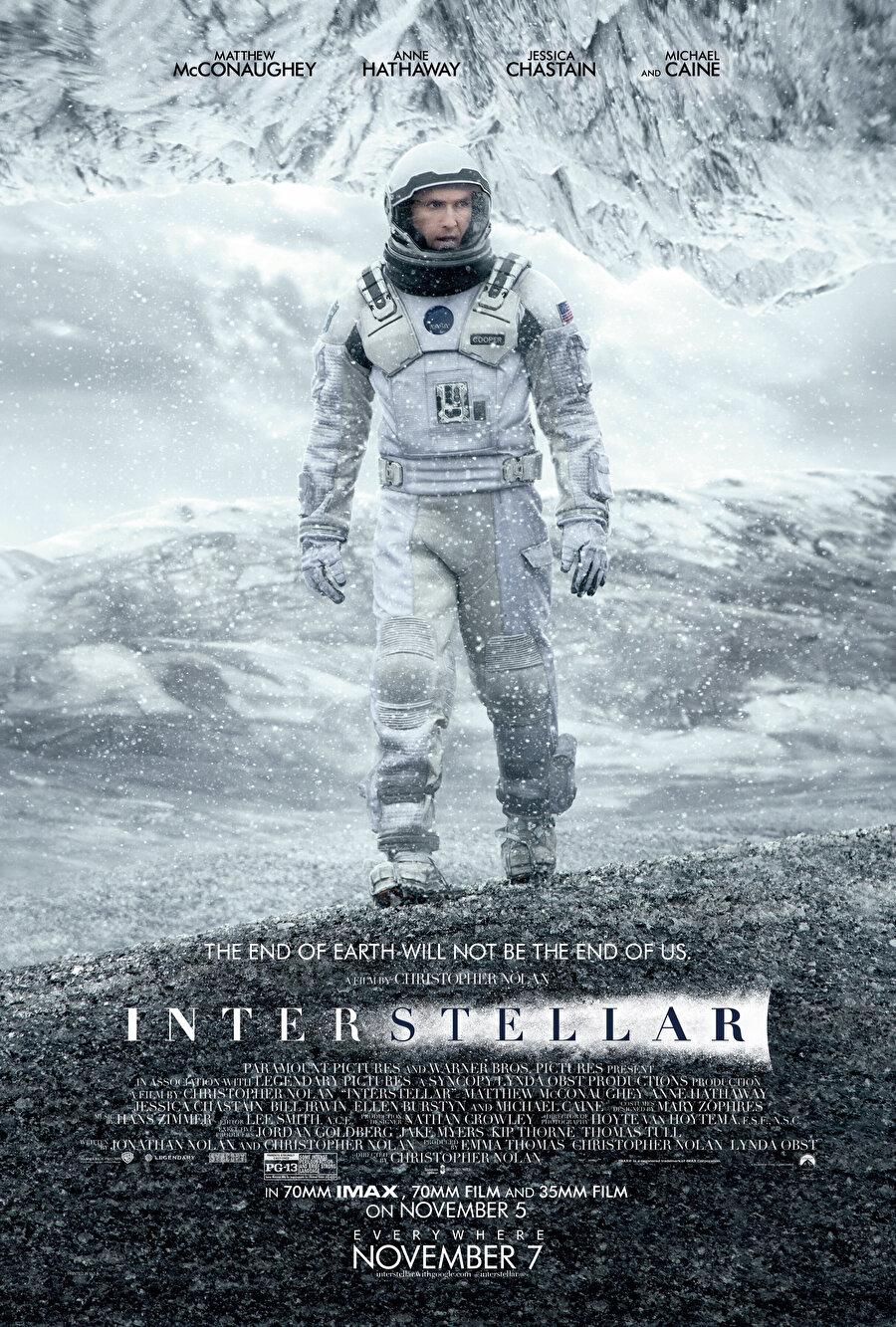 Interstellar, çıkış yaptığı günden bu yana sinema tarihinin en iyi yapımlarından biri olarak nitelendiriliyor.