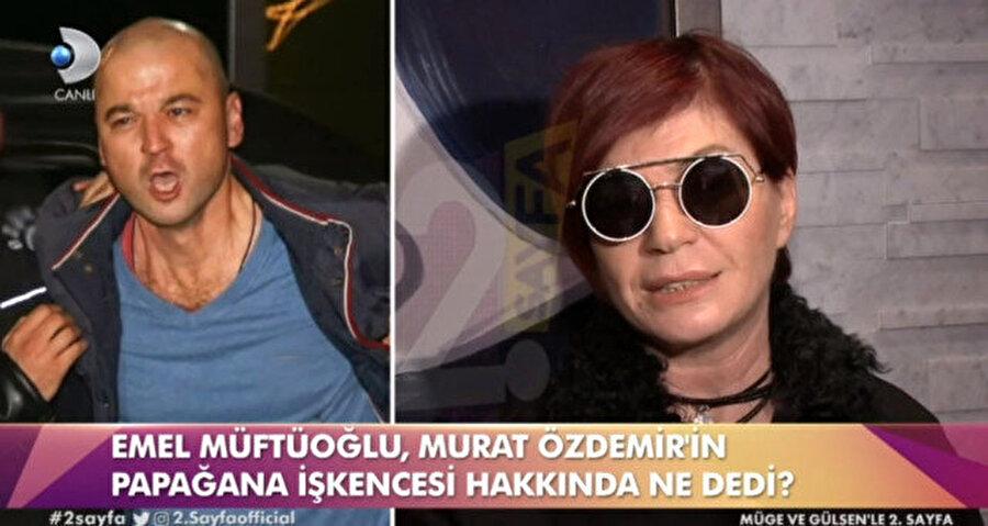Konuyla ilgili muhabirlerin sorularını yanıtlayan Emel Müftüoğlu'nun papağan hakkında yaptığı yorumlar tartışmalara sebep oldu.