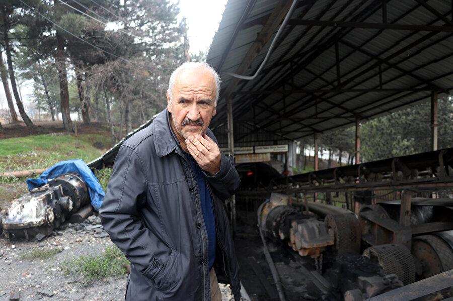 Bekir Arslan da aynı madenden emekli olduğunu söyledi.