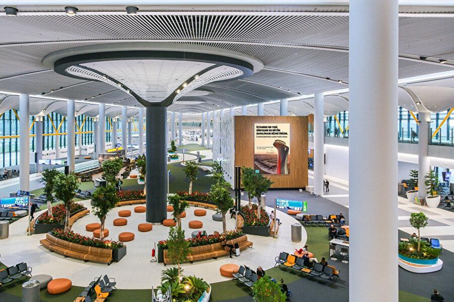 Yolcular yeni havalimanından memnun kaldı.