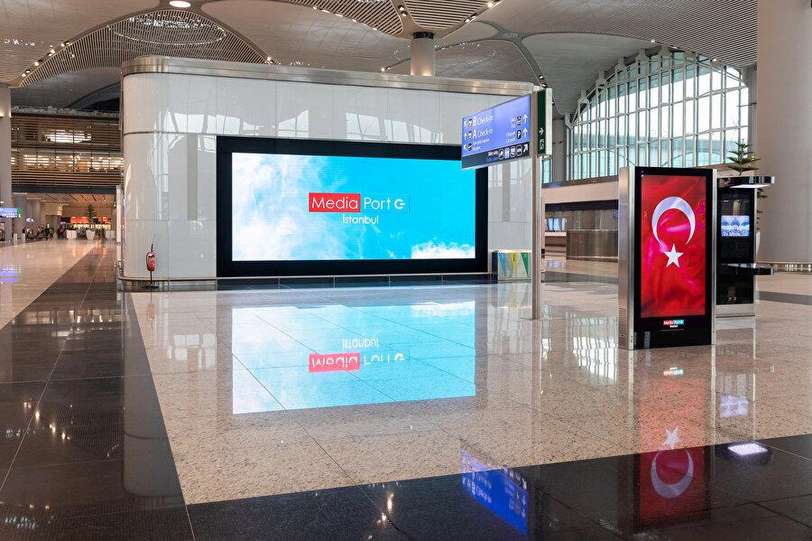 İstanbul Havalimanı iç ve dış hattı kullanarak seyahat eden yolcuların %90'ı genel olarak hizmetlerimizden memnun.