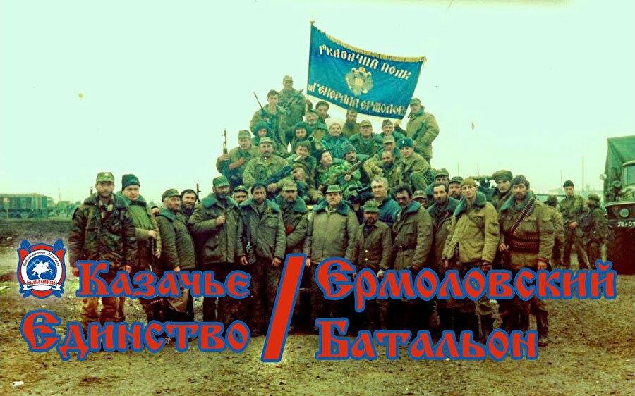 Rus Kozaklardan oluşan Yermolov Birliği'nin 20 askeri Çeçen Savaşında öldürüldü.