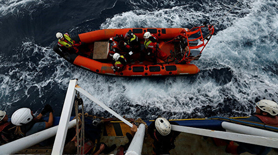 Yetkililer teknenin 18 Aralık'ta Fas'tan yola çıktığını belirtti.