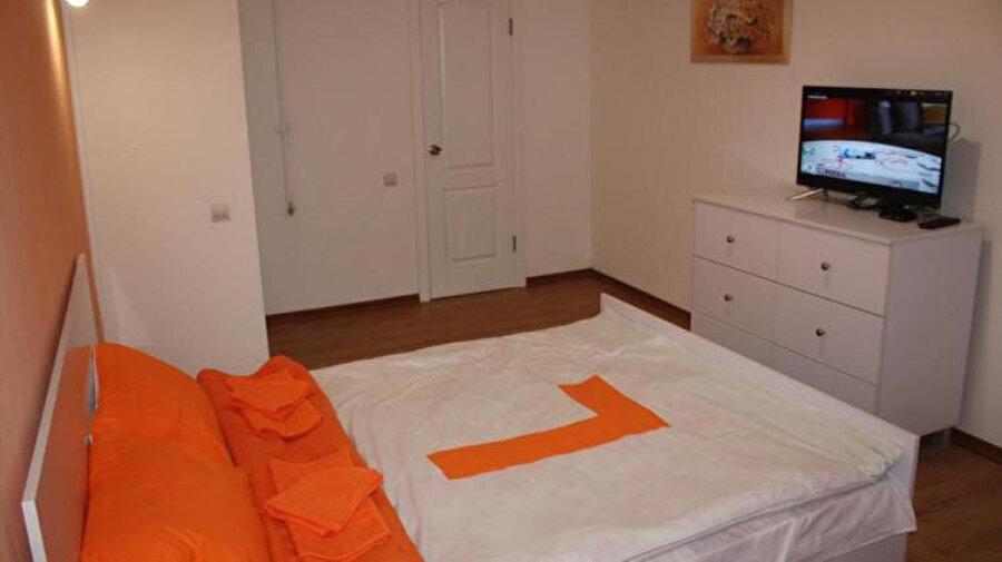 Lemberg Elite Apartments'ın odasından bir görüntü.