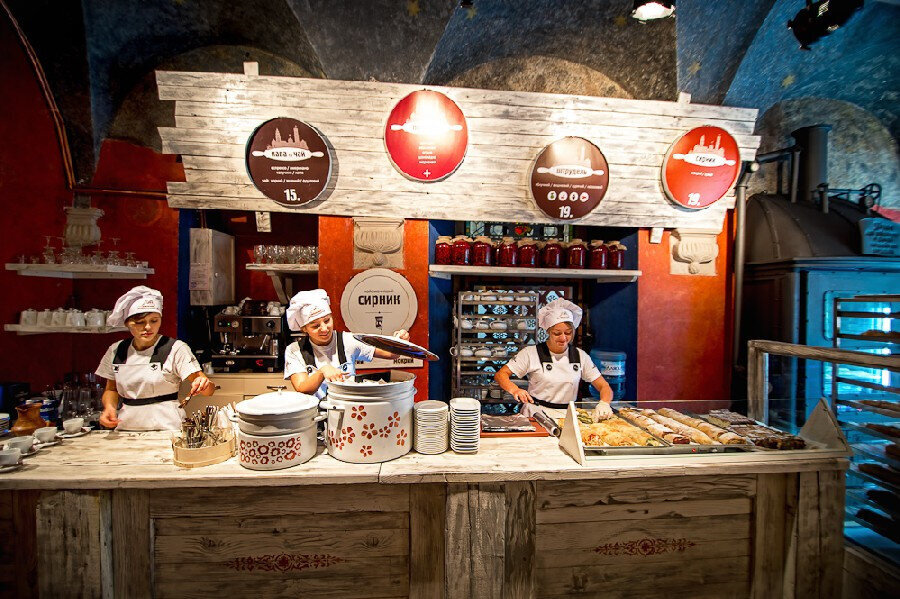 Lviv Galician Cheese Cake Bakery.