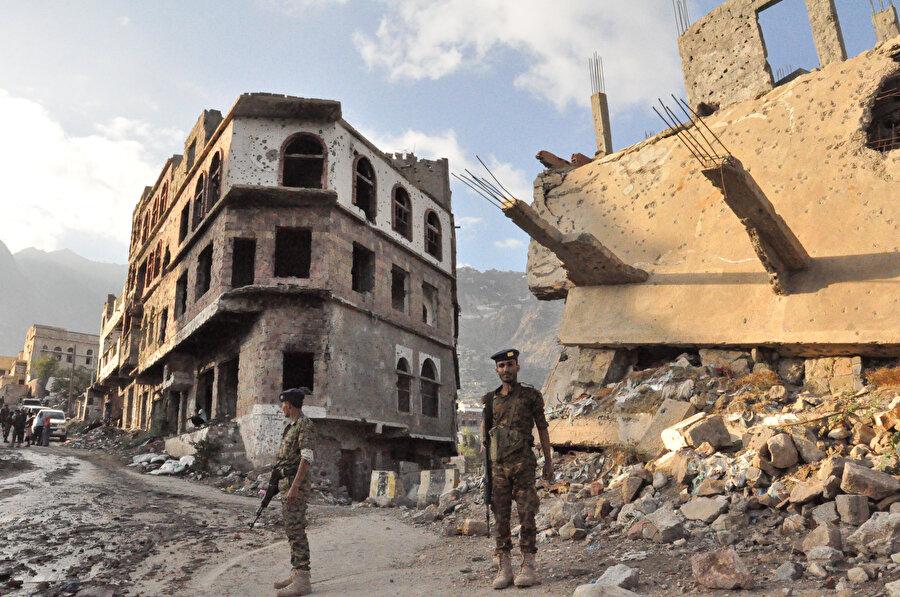 Yemen 'hayalet şehre' dönmüş durumda.