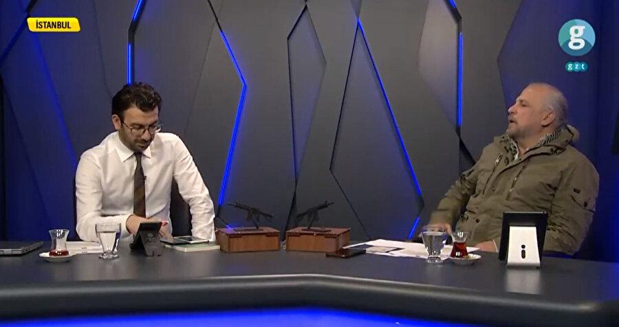 İsmail Halis ve Mete Yarar'ın sunumuyla Güvenli Bölge GZT sosyal medya hesaplarında.