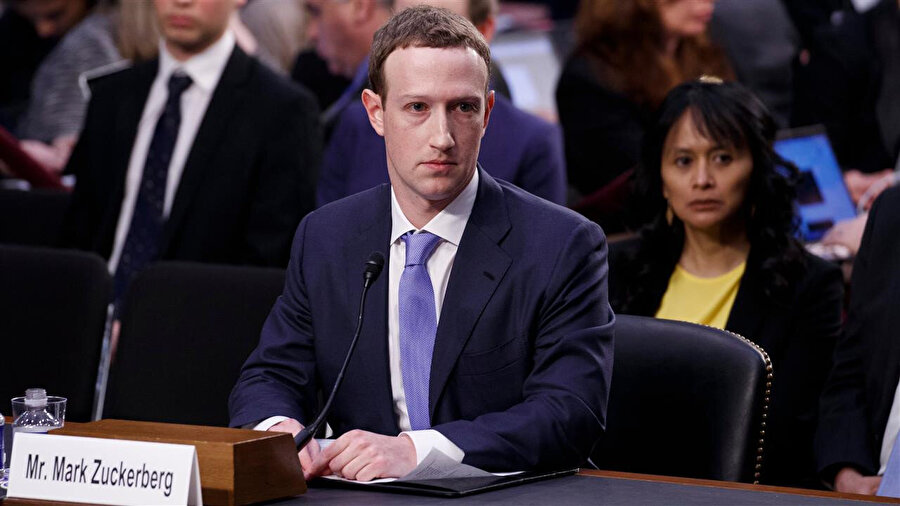 Mark Zuckerberg'in 'veri skandalı sürecindeki' mahkeme görüntüleri büyük ilgi uyandırmış, aylarca gündemi belirlemişti.