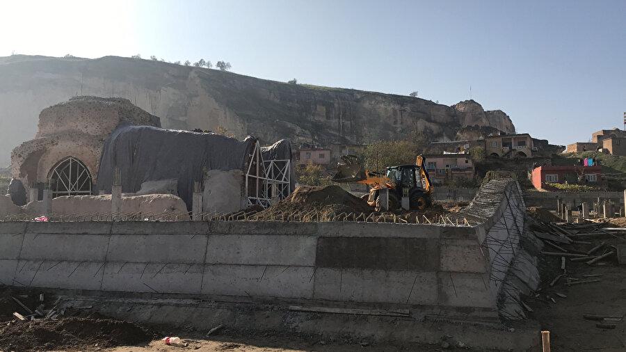 Süleyman Han Camisi inşaat alanı