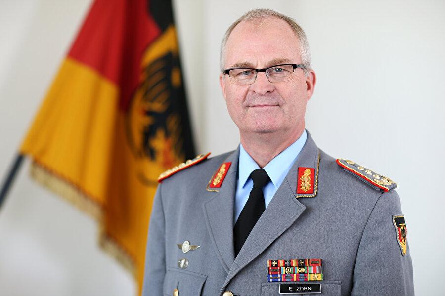 Almanya Genelkurmay Başkanı Eberhard Zorn, konuya ilişkin açıklamalarda bulundu.