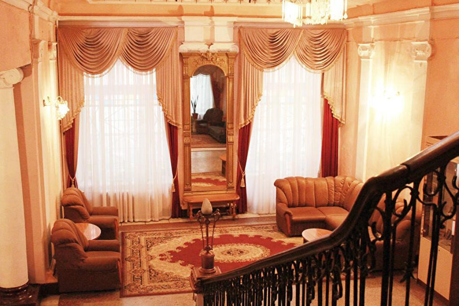Odesa'da konakladığımız otel, Tsentralnaya Hotel.