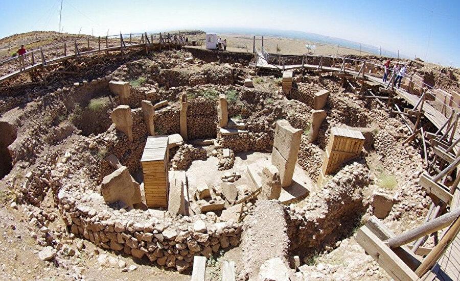UNESCO Dünya Miras Listesi'ne alınan Şanlıurfa'daki Göbeklitepe