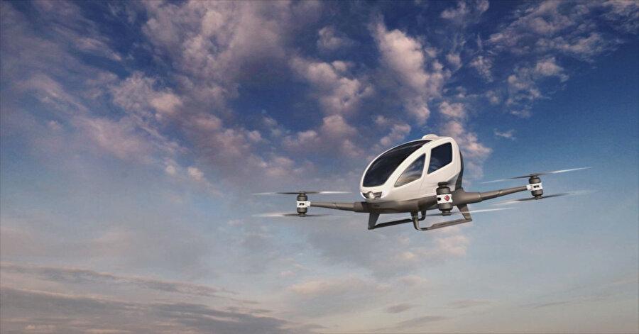 Uçan taksiler, dünyadaki ulaşım dengesini baştan aşağı değiştirebilir.
