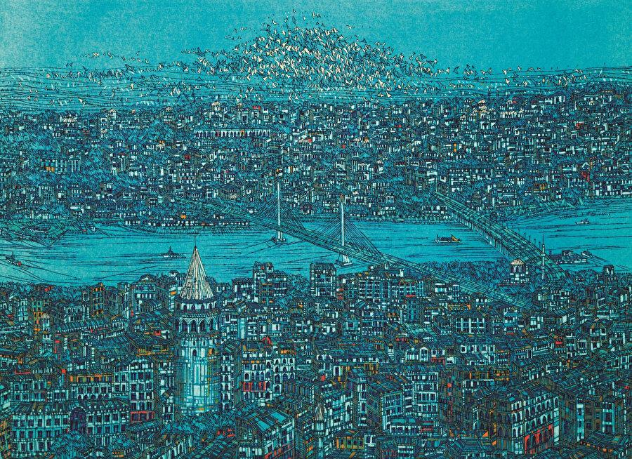 """1970'te Osaka'daki """"Ekspo 70"""", 1971,de Yeni Delhi'deki trianele, 1964 ve 1965 yıllarında Brüksel, Paris, Berlin, Roma ve Viyana'da açılan Çağdaş Türk Sanatı Sergileri'ne katıldı."""