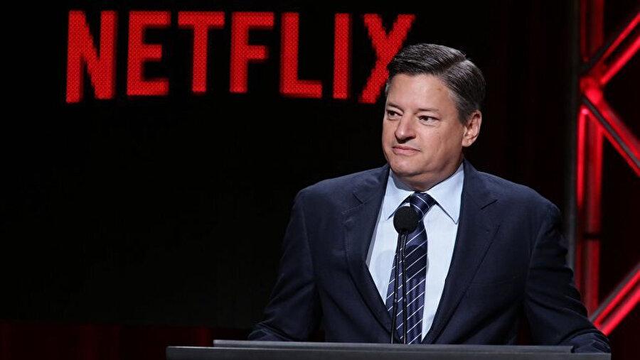 Netflix'in Baş İçerik Yöneticisi Ted Sarandos.